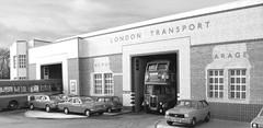 RD Hornchurch bus garage (kingsway john) Tags: bus london scale garage transport models card kit rt kingsway 176 oogauge