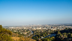 Los Angeles City View (Anthony's Olympus Adventures) Tags: los angeles cityscape city downtown view hollywood lookout stunning buildings sky california ca usa america losangeles hollywoodbowl