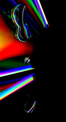 Colors infinte series 1 / 3 (myriad ways) Tags: abstract colors closeup waterdrop colorful experiment abstractphotography funwithcolors