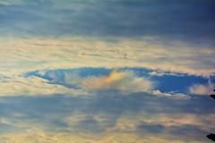 Iridescent Fallstreak Hole Cloud (ReasonVsFear) Tags: fallstreak holepunch iridescent cloud weather sky