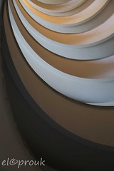Hotel Stairwell (elcoprouk) Tags: light architecture turkey shadows curves shapes indoor stairwell