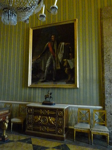 Reggia Caserta - Bourbon royal palace, state rooms, Murat's bedroom (3)