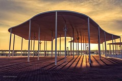 Shield (Alicia Clerencia) Tags: sunset arquitectura shadows sombras arquitecture atardece