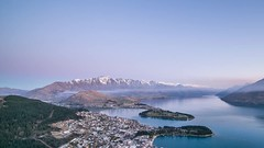 Queenstown (Hafiz Anwar) Tags: city travel sunset mountain lake snow nature skyline landscape timelapse spring bluesky adventure clear queenstown gondola traveling backpacker