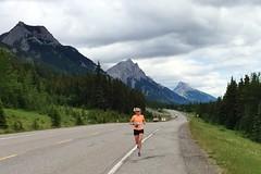 Leg 7 Runner Survives the Wild (Downhillnut) Tags: mountains calgary race kananaskis longview relay nakiska 2016 crr 100miles relayteam 10runners calgaryroadrunners