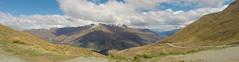 340 - Panorama de Crown Range Summit