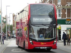 7 July 2016 Clapham Junction (7) (togetherthroughlife) Tags: 2016 july claphamjunction battersea bus 35 yx16obv eh41
