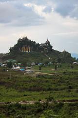 Mount (Jonathan ) Tags: buddha gold mountain burma myanmar kalaw