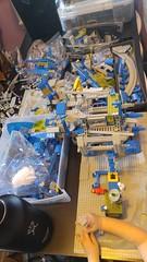 Mmmmm.... (blamos86) Tags: lego space wip classic monorail work progress moc benny