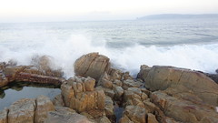 Splashing Waves (Rckr88) Tags: robbergbeach robberg beach splashingwaves splashing waves splash wave water sea ocean coastline coast coastal rockycoastline rocks rock plettenberg plettenbergbay bay westerncape gardenroute southafrica south africa travel outdoors nature