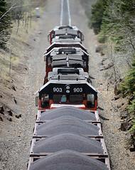 Distinctive Radiator Grills (Missabe Road) Tags: cn canadiannational ble dmir tunnelmotor sd40t3 u789 ironrangesubdivision