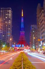東京タワー Tokyo Tower (ELCAN KE-7A) Tags: tower japan tokyo pentax illumination 日本 東京 shiba タワー 2015 イルミネーション ライトアップ ペンタックス 芝 k5ⅱs