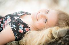 Portrait (irishsinner) Tags: portrait cute girl umbrella nikon pretty blonde d800 cutemodel sb900 nikond800 tamron70200mm28vc