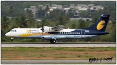 VT-JCK (Girish Bhagnari) Tags: atr planespotting atr72 9w 72500 jetairways vobl jetkonnect