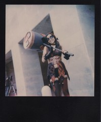 Harley Quinn (Br1Johnny) Tags: mostra italy anime color girl female comics fun polaroid dc nikon italia harley 600 batman quinn coolpix napoli naples joker arrow fumetti cosplayer dccomics gotham comicon harleyquinn impossible 635 2015 supercolor comizi blackframe mostradoltremare doltremare supercolor635 s8000 impossibleproject