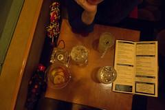 The View (Spannarama) Tags: usa newyork bar night menu table evening manhattan cocktail drinks timessquare lookingdown umbrellas birdseyeview theview rotatingrestaurant marriotttimessquare