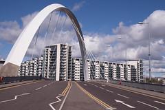 The Glasgow Arc (bill lowis) Tags: scotland riverclyde glasgow bridges