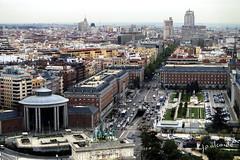 Vista desde el faro de Moncloa (J. A. Alcaide) Tags: madrid urban espaa spain europa cityscape cities views vista urbano vistas ciudade