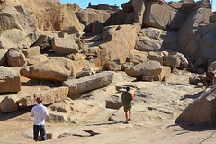 The quarry at Aswan, Egypt (DSLEWIS) Tags: egypt obelisk aswan quarry technologies ancientegypt diorite unfinishedobelisk ancienttechnologies