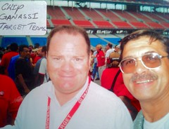 Chip Ganassi, NASCAR & INDY Owner, TARGET, Pictures With NASCAR people (Picture Proof Autographs) Tags: fredweichmannfrederickweichmann photograph photographs inperson pictureproof photoproof picture photo proof image images collector collectors collection collections collectible collectibles classic session sessions authentic authenticated real genuine sign signed signing sigature sigatures auto autos vehicles vehicle model automobile automobiles driver drivers autoracing sport sports nascar winstoncup sprint cup busch nationwide craftsman campingworld xfinity truck series dodge charger intrepid ford thunderbird chevy lumina montecarlo pontiac grandprix taurus autographes autographed autograph fred frederick weichmann fredweichmann frederickweichmann