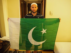 I had my toughts about coming to Pakistan because of all the bad press that runs thru the media. But coming was the best decision i have made. Ive only been met by friendly people with good intension.