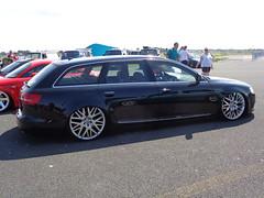 Audi A6 C6 Avant (911gt2rs) Tags: show black low meeting schwarz treffen stance s6 sline airride mivw