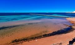 Ardrossan Jetty (Sougata2013) Tags: sea nature colors landscape jetty australia tokina adelaide southaustralia ardrossan seabeach yorkepeninsula gulfstvincent tokina1220 ardrossanjetty nikond7200