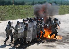 150715-A-AB123-011 (KFOR Kosovo) Tags: kosovo zz kfor campbondsteel kosovoforce multinationalbattlegroupeast firephobiatraining 1stcombinedarmsbattalion252ndarmorregiment