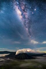 Mount Bromo-Milky way (bamboogies) Tags: way indonesia star mar milky bromo