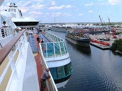 Barge Yucatan (Hear and Their) Tags: tampa bay florida yucatan ybor channel