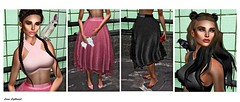 Designer Showcase: Different stride but I'm wearing the same shoes (Hannah Luna Naimarc: Miss V Chile 2016) Tags: pink black bird fashion hair top style jewelry skirt clothes baubles nya designershowcase dulcesecrets