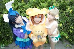 Love Live (Melvina Chua) Tags: singapore cosplay umi kotori honoka lovelive cosplayphotography lovelivecosplay
