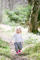 Running (~ Maria ~) Tags: happy spring forrest may running sunnyday 2yearsold inthewoods 2016 sigma150mm mariakallin sunnyspringday toddlerlife nikond800 spring2016