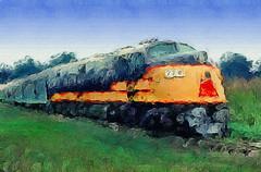 Louisville & Nashville E6A Diesel Locomotive (Vern Krutein) Tags: railroad technology publictransportation power engine rail loco railways passengertrain diesellocomotive funit dieselelectric louisvillenashvillee6adiesellocomotive770