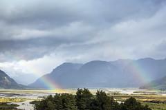 Doble Arcoiris en la Patagonia (Daniel Gjakoni) Tags: canon 6d 70 300mm l is usm regin de aysn patagonia chile arcoiris rainbow regenbogen paisaje landscape landschaft doble carretera austral