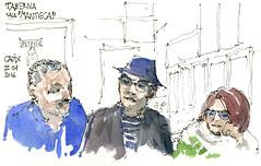 Cadix (gerard michel) Tags: sketch spain espana sketchcrawl croquis urbansketchers