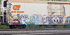 CRYO-TRANS (Fan-T) Tags: ohio car refrigerator trans berea cryo