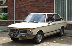 1972 BMW Touring 2000 Automatic (E6) (rvandermaar) Tags: 2002 2000 02 automatic bmw bmw2002 1972 e6 touring bmw2000 bmw02 bmwtouring 5756ue sidecode2 bmwe6