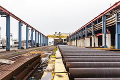 Blohm & Voss Dockyard Hamburg (cptmauser90) Tags: industry steel hamburg industrie dockyard werft blohmvoss stahlindustrie schiffswerft