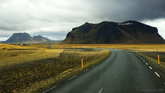 some kind of Icelandic road movie ;) (lunaryuna) Tags: road travel panorama mountains season landscape iceland spring roadtrip visit journey lunaryuna seasonalchanges