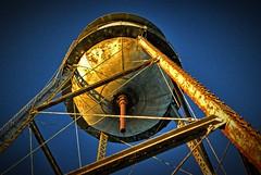 Historic Nashville & Decatur Railroad water tower, Nashville, Tennessee (BDM17) Tags: railroad tower water rust tank tn nashville tennessee rail historic decatur