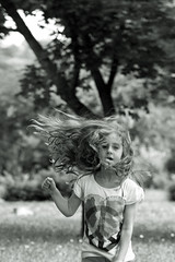 IMG_2537_bw (bess_bg) Tags: girl monochrome childhood playground happy freedom child play outdoor free happynes