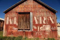 Portland Co-Op Society (Darren Schiller) Tags: abandoned sign advertising portland tin tea shed rusty derelict corrugated kinkara
