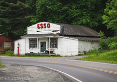 Ashe Gas Station (Kelly Lambert Photography) Tags: county old blue mountains station rural photography nikon country north gas ridge carolina backroads ashe mountan