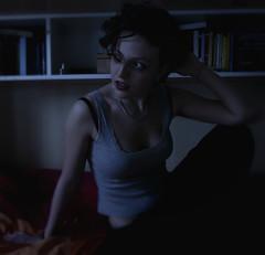 Fase Terza (aiko .) Tags: blue persona bed ritratti letto luce interni confusione bho