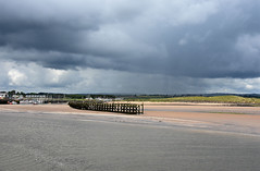 Approaching shower (DavidWF2009) Tags: shower harbour northumberland amble rivercoquet