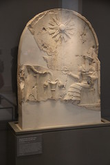 Limestone Stele from Northern Mesopotamia Media-Assyria Kingdom, Late 3rd Mill. BC (Gary Lee Todd, Ph.D.) Tags: france louvre paris ancient neareast
