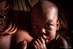 Baby Nursing 8800 (Ursula in Aus - Away) Tags: otjomazeva himba africa namibia environmentalportrait