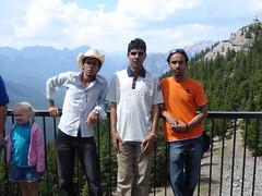 Friends in Banff (Hasan Al Ali) Tags: jamal abdullah qasem