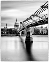 The Cathedral (efil') Tags: sonya7ii zeissloxia35mmf2 leefilters bigstopper stpaulscathedral millenniumbridge london loxia235 carlzeiss architecture